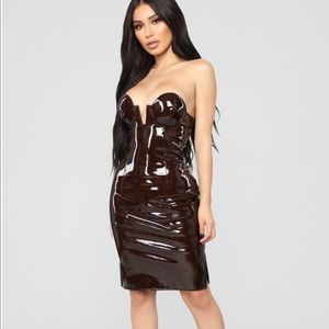 Not Easily Rattled Snakeskin Dress- Fashion Nova